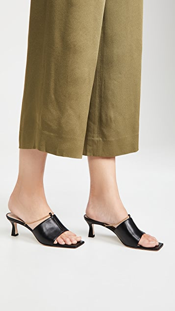 Wandler Isa Kitten Chain Slide Sandals