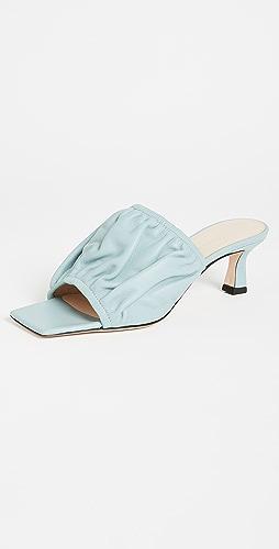 Wandler - Ava 方锥矮跟鞋