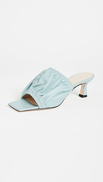 Wandler Ava 方锥矮跟鞋