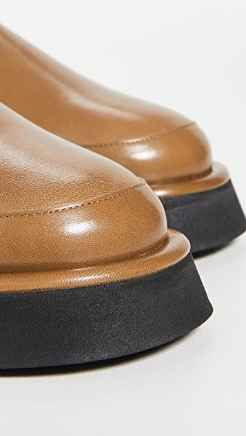 Wandler Rosa Loafers with Shearling Lining