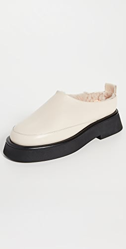Wandler - Rosa Loafers with Shearling Lining