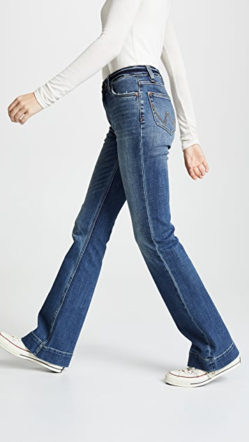 1d16b69a Wrangler Exaggerated Bootcut Jeans | SHOPBOP