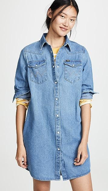 Wrangler Платье-рубашка Western