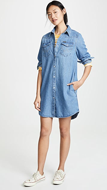 Wrangler Western Shirtdress