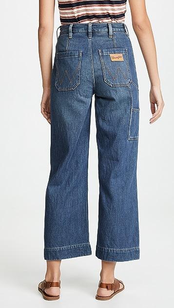 Wrangler 实穿七分牛仔裤