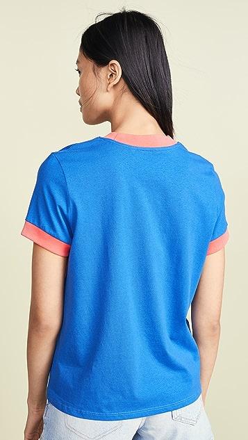 Wrangler 80 年代复古风格 T 恤