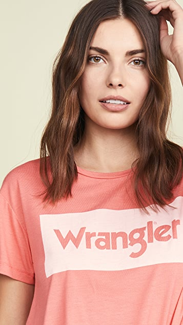 Wrangler Logo Tee