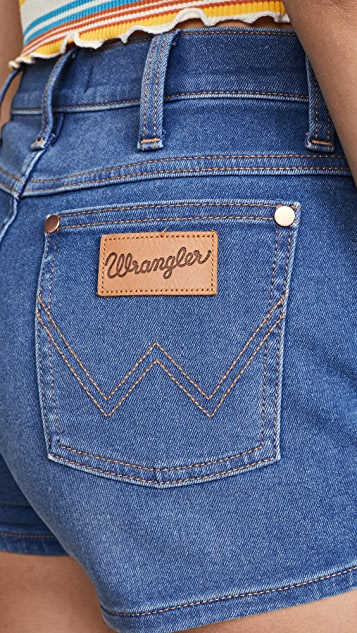 Wrangler Шорты Pin Up