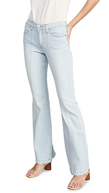 Wrangler Прошитые расклешенные джинсы