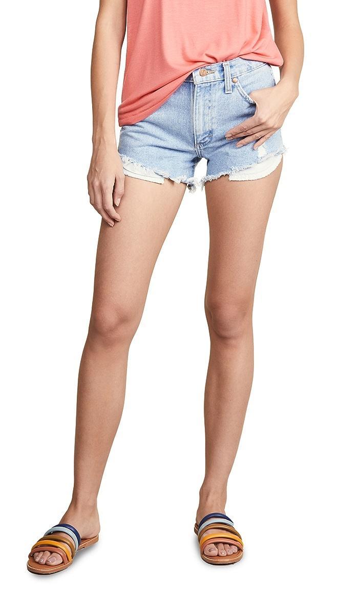 Jean cut off shorts SALE Closing Shop SALE Wrangler Shorts cutoffs Jean Shorts   W waist 33.5