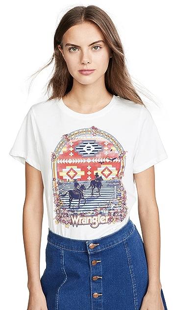 Wrangler Round T 恤