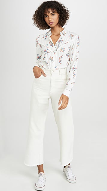 Wrangler Flower Shirt