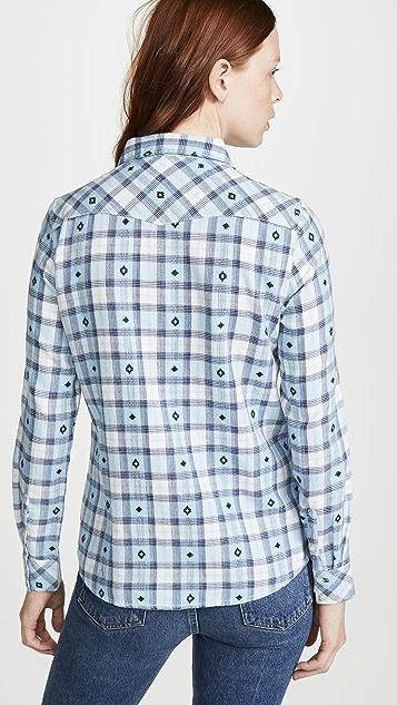 Wrangler Western Check Shirt