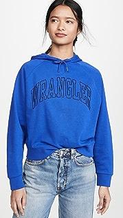 Wrangler 复古款连帽上衣