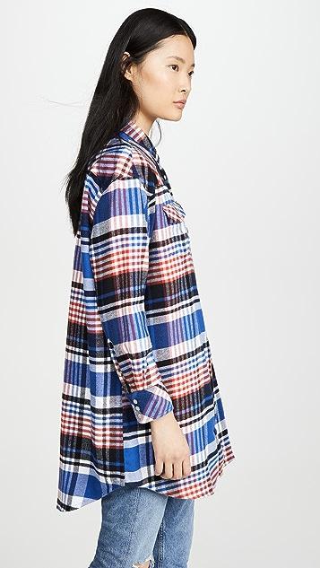 Wrangler 外套式衬衣连衣裙