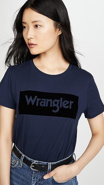 Wrangler Футболка с логотипом