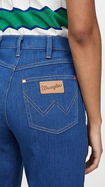 Wrangler Wide Leg Long Jeans