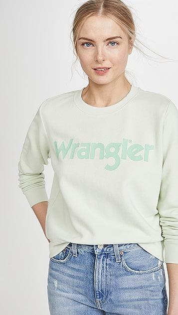 Wrangler Толстовка с логотипом