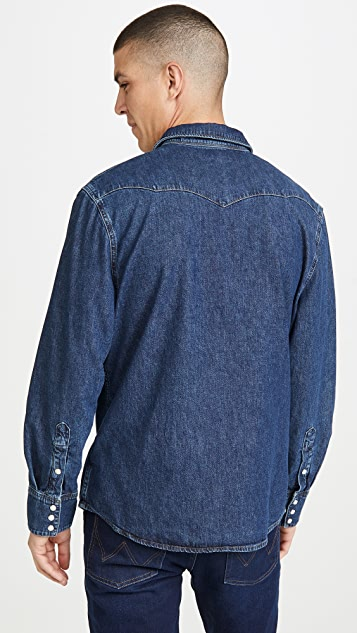 Wrangler Indigood Wrangler Icons Long Sleeve Shirt