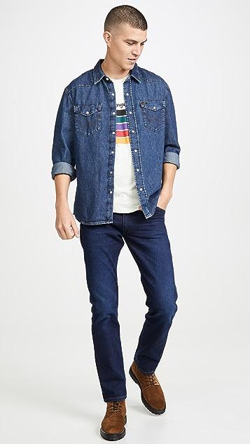 Wrangler Indigood Wrangler Icons Long Sleeve Shirt