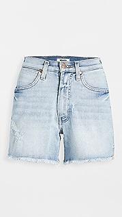 Wrangler 高腰短裤