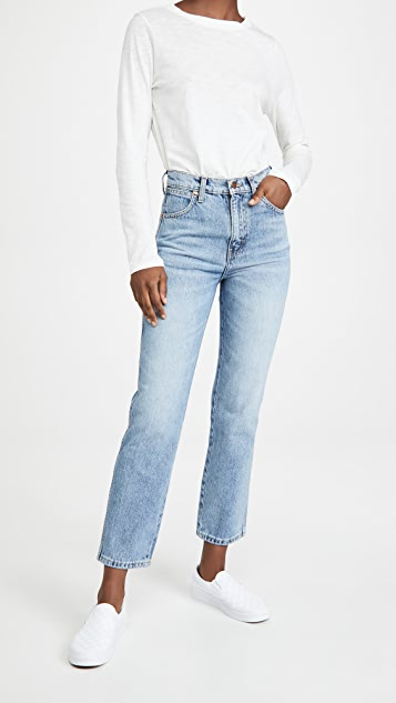 Wrangler Wild West High Rise Straight Jeans