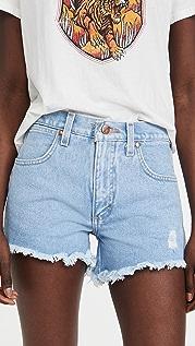 Wrangler 磨边短裤