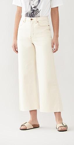 Wrangler - High Rise Wide Leg Crop Jeans