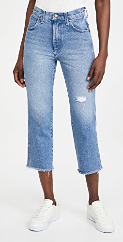Wrangler - High Rise Straight Heritage Jeans