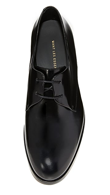 WANT Les Essentiels Pena Derby Oxfords