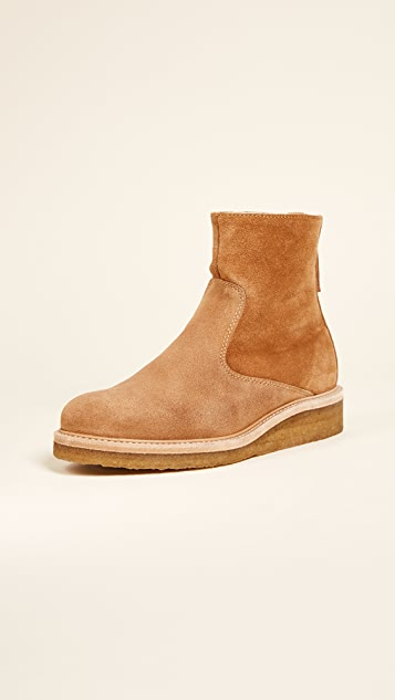 WANT Les Essentiels Stevie Crepe Sole Ankle Booties