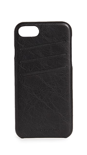 WANT Les Essentiels Leather iPhone 8 Case