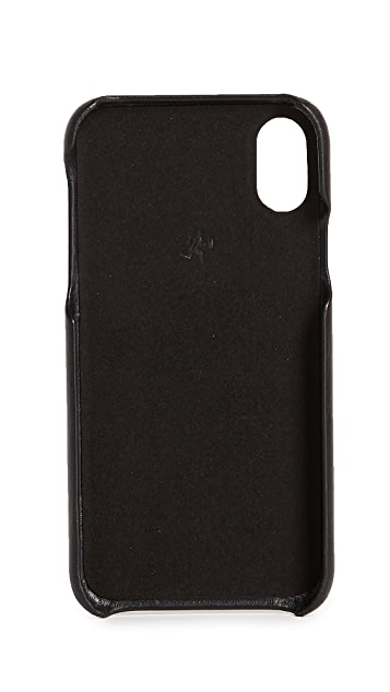 WANT LES ESSENTIELS Leather iPhone X Case
