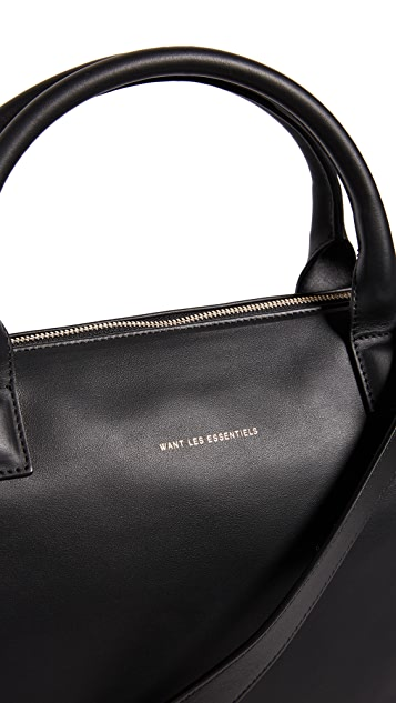 WANT LES ESSENTIELS O'Hare Leather Shopper Tote