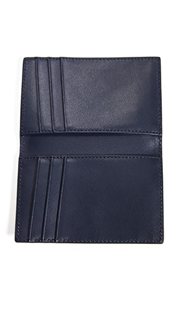 WANT Les Essentiels Lynden Vertical Bifold Wallet