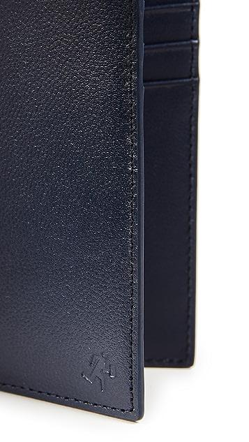 WANT Les Essentiels Lynden Vertical Bifold Wallet
