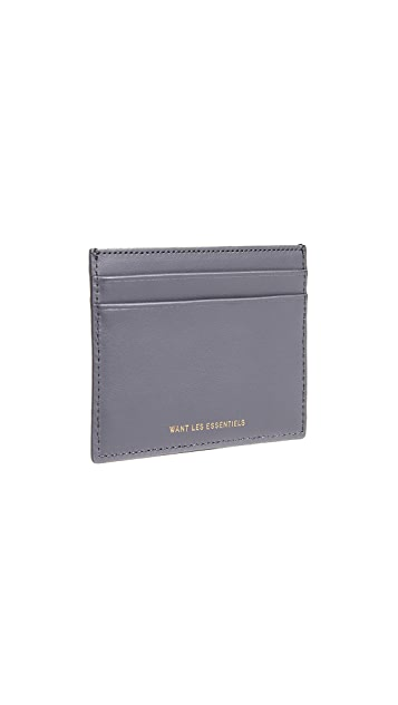 WANT Les Essentiels Asymmetrical Cardholder