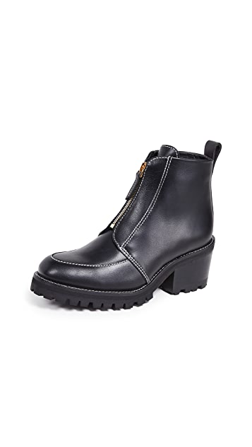 WANT Les Essentiels Varela High Zipped Derby Boots