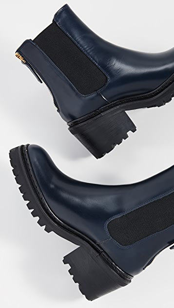 WANT Les Essentiels Ботинки челси Valdez на квадратных каблуках
