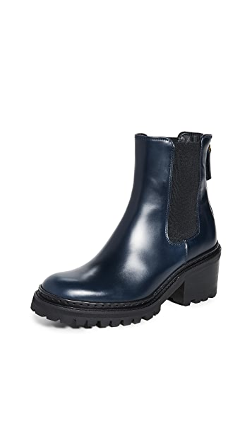 WANT Les Essentiels Valdez 粗跟切尔西靴子
