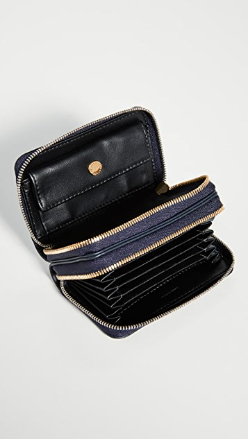 WANT Les Essentiels Mini Petra Double Zip Card Holder