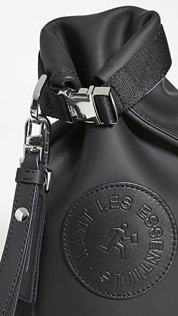 WANT Les Essentiels Mini Epps Roll Top Bucket Bag
