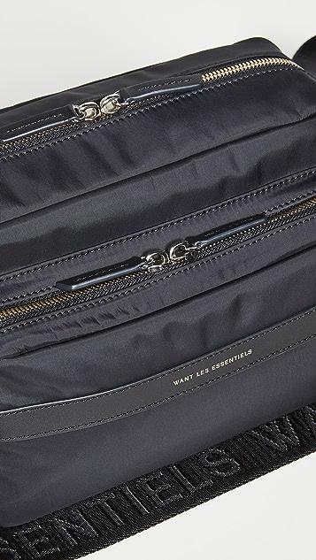 WANT Les Essentiels Carson 2.0 Utility Bag with Logo Strap