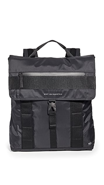 WANT Les Essentiels Gowan Eco-Nylon Convertible Backpack