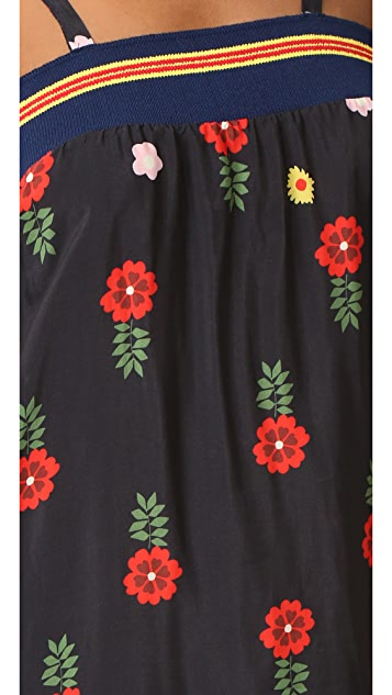 Warm Smile Slip Dress
