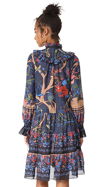 Warm Branch Tree of Life Dress