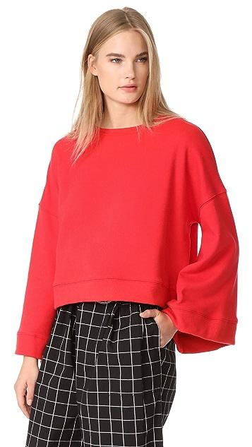 Warm Minimal Sweatshirt