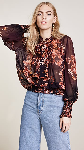 Warm Autumn Leaf Blouse
