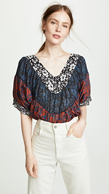 V Neck Blouse by Warm