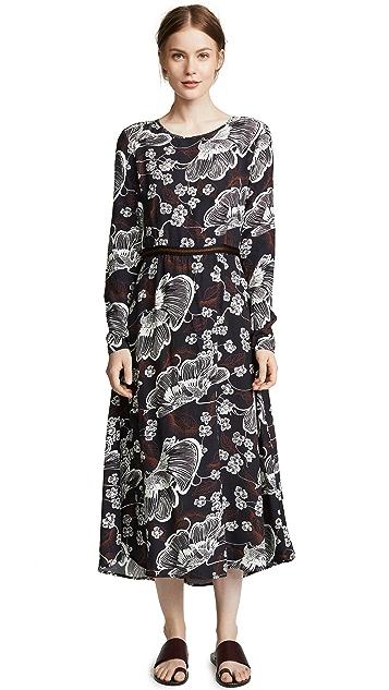 Warm Poppy Dress